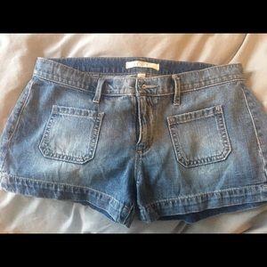 Loft front pocket shorts